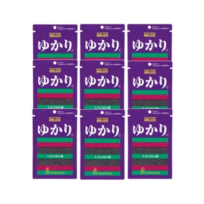 (全国送料無料)三島食品 ゆかり 26g 9コ入り メール便 (4902765302114sx9m)