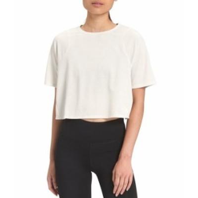 ノースフェイス レディース Tシャツ トップス Vyrtue Short Sleeve Cropped Boxy Tee Vintage White