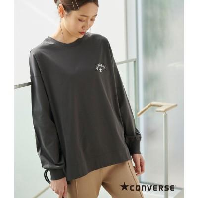 ロペピクニック ROPE' PICNIC 【CONVERSE】シルケットスムースロングTシャツ (グレー系(09))