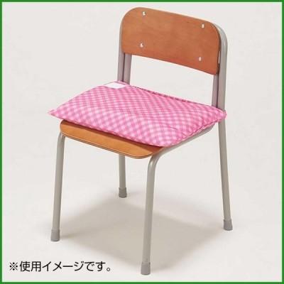 ナカバヤシ 防災ずきん用カバー チェック ピンク BZK-102P b03