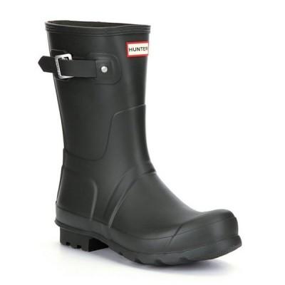 ハンター メンズ ブーツ・レインブーツ シューズ Men's Original Short Waterproof Rain Boots