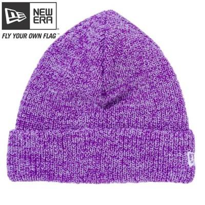 ニューエラ ニットキャップ ソフトカフニット グレープ ホワイト スノーホワイト New Era Knit Cap Soft Cuff Knit Grape White Snow White