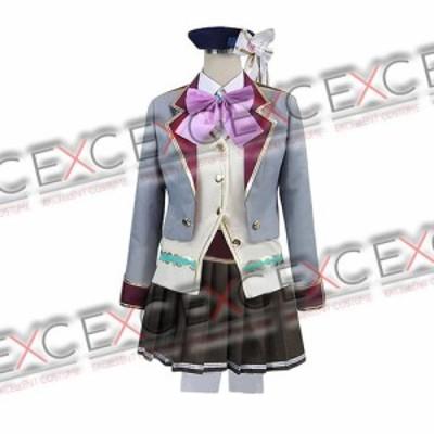白猫プロジェクト エクセリア 私立茶熊学園制服 風 コスプレ衣装