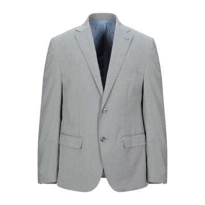 BARBATI テーラードジャケット グレー 54 ポリエステル 73% / レーヨン 21% / ポリウレタン 6% テーラードジャケット