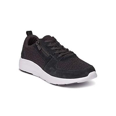 特別価格Vionic Womens Delmar Remi Suede Textile Black Trainers 8.5 US好評販売中