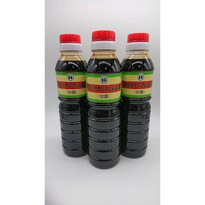 甘露醤油 360ml 3本セット マルハヤシ醤油
