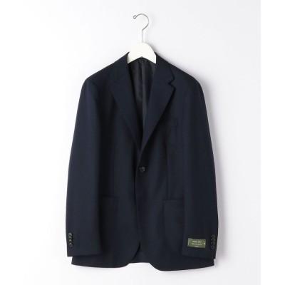 (green label relaxing/グリーンレーベルリラクシング)[ レダ ]  REDA メッシュ ムジ ジャケット 2B MF NT 2P-/メンズ NAVY