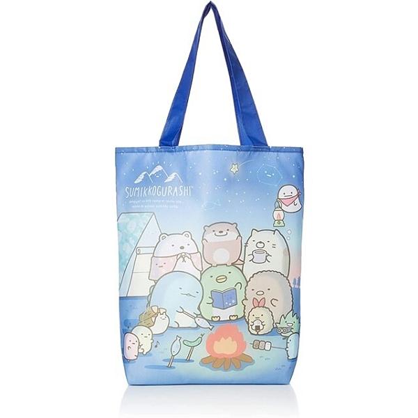 小禮堂 角落生物 環保購物袋 (露營款) 4990270-13163