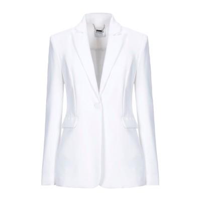 ゲス GUESS テーラードジャケット ホワイト L ポリエステル 91% / ポリウレタン 9% テーラードジャケット