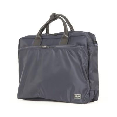 【カバンのセレクション】 吉田カバン ポーター タイム ビジネスバッグ 3WAY メンズ ビジネスリュック B4 PORTER 655-08296 ユニセックス ネイビー 在庫 Bag&Luggage SELECTION