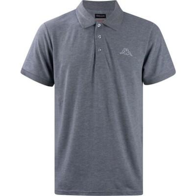 カッパ Kappa メンズ ポロシャツ トップス Basic Polo Shirt Grey