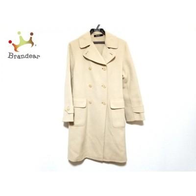 ダナキャラン DKNY コート サイズ4 XL レディース 美品 アイボリー 冬物   スペシャル特価 20200406