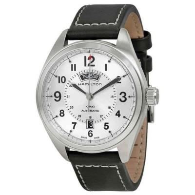腕時計 ハミルトン メンズ Hamilton Khaki Field Automatic Silver Dial Men's Watch H70505753
