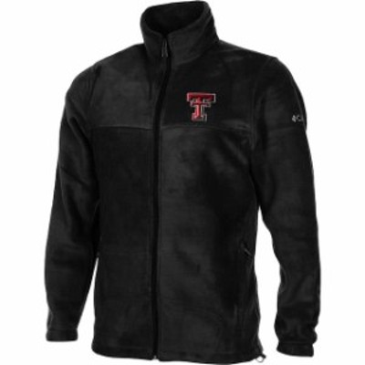PING ピング スポーツ用品  Columbia Texas Tech Red Raiders Youth Black Flanker Full Zip Fleece Jacket