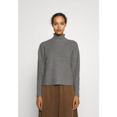 レディース ファッション SIMONA ANITA - Jumper - light grey melange