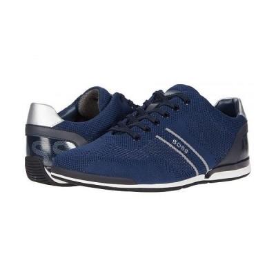 BOSS Hugo Boss ボス メンズ 男性用 シューズ 靴 スニーカー 運動靴 Saturn Sneakers - Dark Blue