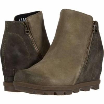 ソレル SOREL レディース ブーツ ウェッジソール シューズ・靴 Joan of Arctic Wedge II Zip Sage