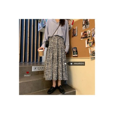 【送料無料】秋服 韓国風 レトロ ハイウエスト 何でも似合う | 346770_A63643-6905348