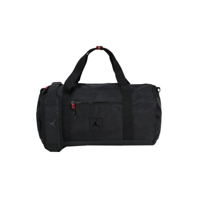 JORDAN 旅行バッグ ブラック ポリエステル 100% 旅行バッグ