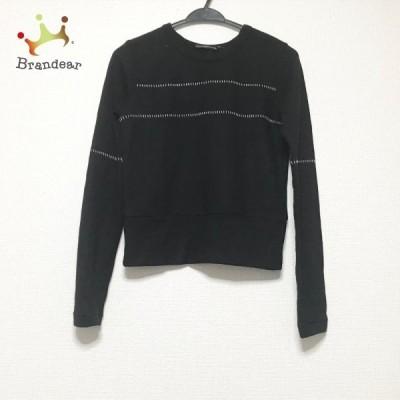 ワイズ Y's 長袖カットソー サイズ2 M レディース - 黒×白 新着 20210327