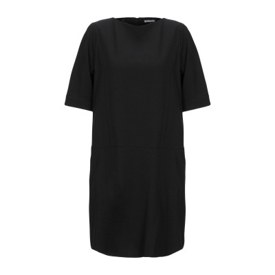 ANGELA MELE MILANO ミニワンピース&ドレス ブラック XS ポリエステル 92% / ポリウレタン 8% ミニワンピース&ドレス
