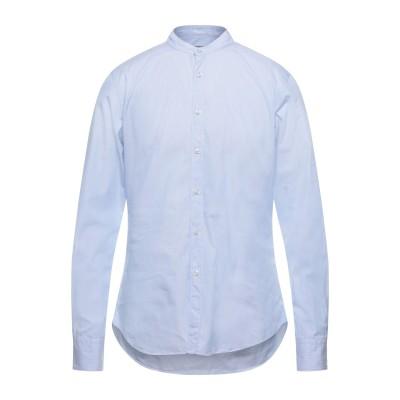 XACUS シャツ アジュールブルー 40 コットン 100% シャツ