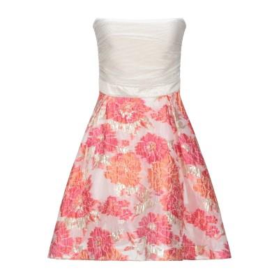 LA KORE ミニワンピース&ドレス フューシャ 40 ポリエステル 100% ミニワンピース&ドレス