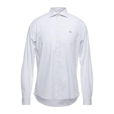 サンシックスティエイト SUN 68 シャツ ホワイト L コットン 96% / ポリウレタン 4% シャツ