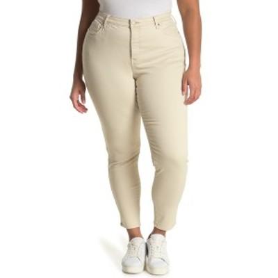 エヌワイディージェイ レディース デニムパンツ ボトムス Ami High Rise Ankle Skinny Jeans FEATHER