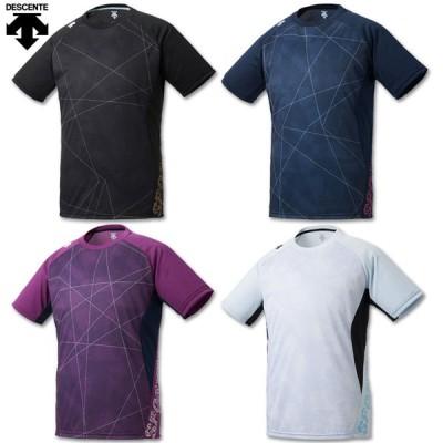 デサント バレーボール 半袖プラクティスシャツ DVURJA52 4色展開
