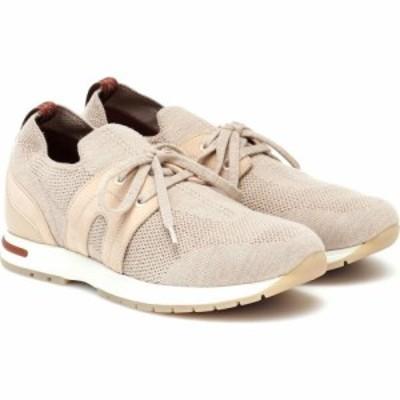 ロロピアーナ Loro Piana レディース スニーカー シューズ・靴 360 Flexy Walk sneakers Biege Melange