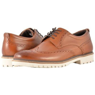 ロックポート Rockport メンズ 革靴・ビジネスシューズ ウイングチップ シューズ・靴 Marshall Wingtip Cognac Leather