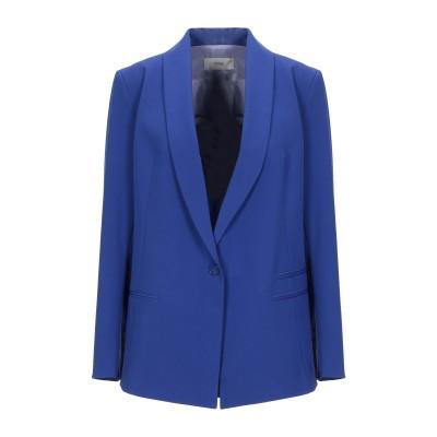 RAME テーラードジャケット ブルー 38 ポリエステル 68% / レーヨン 28% / ポリウレタン 4% テーラードジャケット
