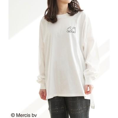 ロペピクニック ROPE' PICNIC 【WEB限定】【miffy×ROPE' PICNIC】ロングTシャツ (ホワイト系(13))