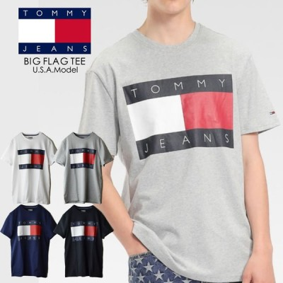 TOMMY JEANS トミージーンズ FLAG TEE ビックフラッグ Tシャツ TOMMY HILFIGER トミーヒルフィガー