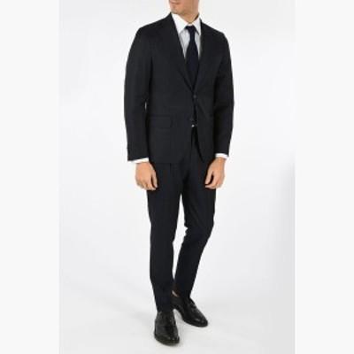 CORNELIANI/コルネリアーニ スーツ Blue メンズ 春夏2019 CC COLLECTION tartan RETAILORED virgin wool drop 7 r 2-button suit dk