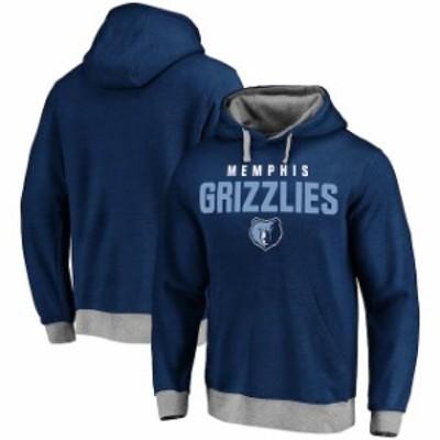Fanatics Branded ファナティクス ブランド スポーツ用品  Memphis Grizzlies Navy Essentials Clean Color Logo Pullo