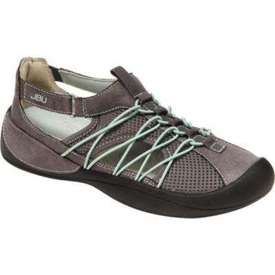 ジャンブー スニーカー シューズ レディース JBU Sizzle Eco Vegan Water Ready Sneaker (Women's) Charcoal/Pale Lime Textile Vegan/Mesh/Bungee