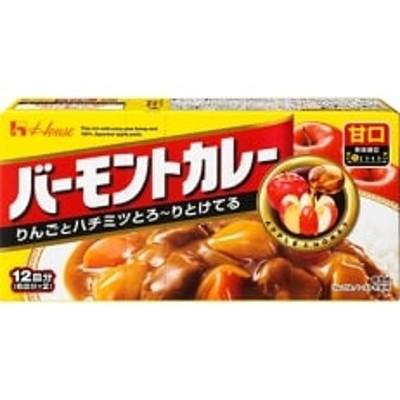 ハウス食品 バーモントカレー【甘口】 230g×10箱