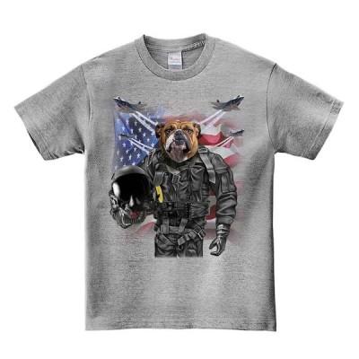 【ブルドッグ・アメリカンパイロット】メンズ 半袖 Tシャツ