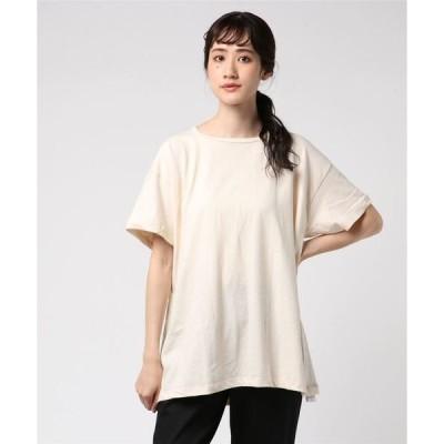 tシャツ Tシャツ 「S.O.S.from Texas/エスオーエス フロム テキサス」  アメリカ製/オーガニックコットン スクープ 半袖クルーネッ