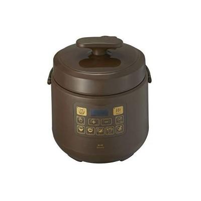BRUNO 電気圧力鍋 時産家電 ほったらかし調理 マルチ圧力クッカー BOE058-BR (ブラウン)