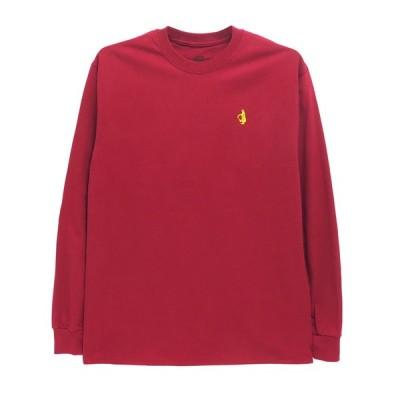 KROOKED LONG SLEEVE クルキッド ロングスリーブTシャツ SHMOLO EMB 刺繍ロゴ スケートボード  スケボー