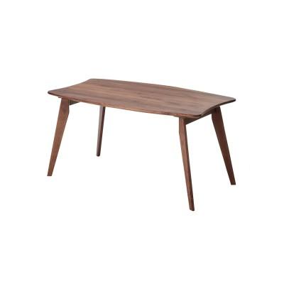 【大型商品送料無料】家族で囲める天然木ウォルナット材のダイニングテーブルシリーズ<4人用>