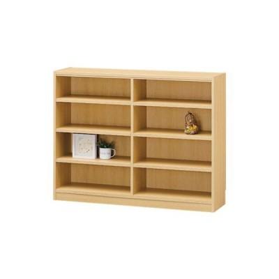 TNL-90117NA 木製収納オープンラック タナリオ(本箱)