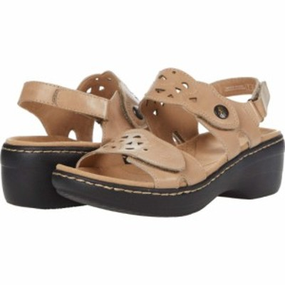 クラークス Clarks レディース サンダル・ミュール シューズ・靴 Merliah Dove Sand Leather