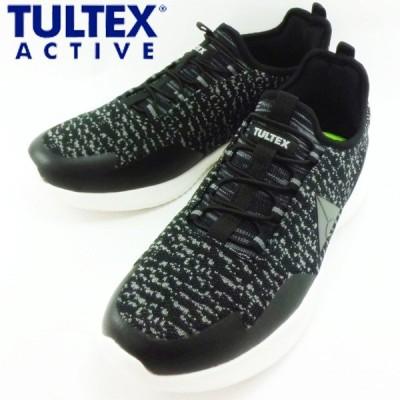 タルテックス アクティブ ブラック 黒 ゴム紐 スリッポン スニーカー ウォーキング シューズ 靴 メンズ TEX-905