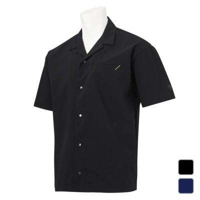 デサント メンズ アルペン・スポーツデポ限定 半袖シャツ THE ONE オープンカラー DX-C0930AP スポーツウェア DESCENTE