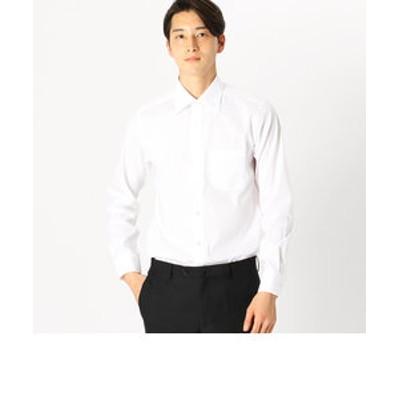 《イージーケアー・抗菌防臭加工》ブロード セミワイドカラー 長袖シャツ