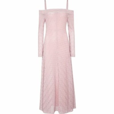 ミッソーニ Missoni レディース ワンピース ミドル丈 ワンピース・ドレス knit off-the-shoulder midi dress